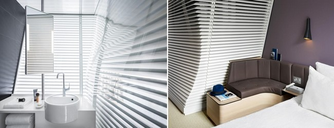 Les chambres sont les espaces privatifs et calmes de ces hôtels où le confort n'a de rival que l'originalité du design, des matériaux et des différents équipements choisis.© Photos Okko Hôtels.