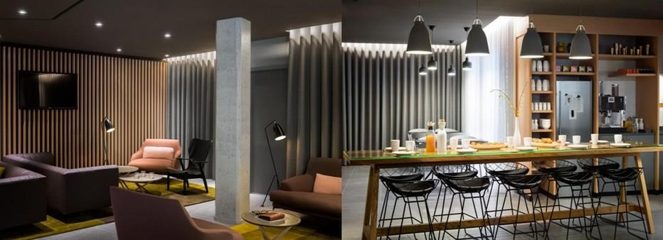 Un Lounge, d'où vous n'aurez plus envie de partir et où presque tout est offert ou compris dans votre nuitée.© Photos Okko Hôtels.