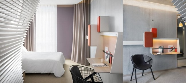 Des chambres confortables au décor très doux.© Photos Okko Hôtels.