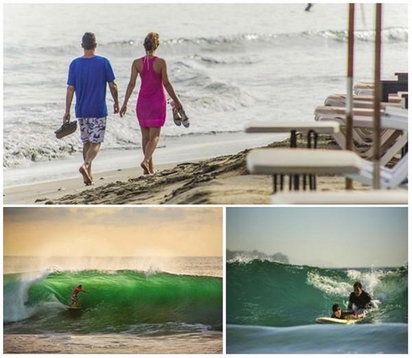 La Riviera Nayarit est incroyablement riche en spots de surf, pour les débutants comme pour les pros.© www.visitmexico.com