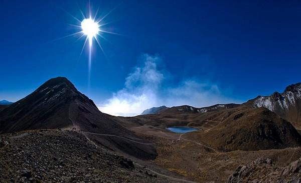 Le Nevado de Toluca, aussi appelé Xinantecatl, volcan éteint dans l'État de Mexico © www.visitmexico.com