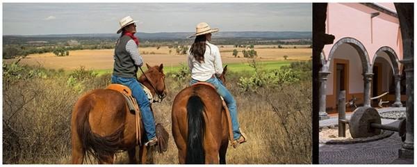 A Tequila en Jalisco des randonnées itinérantes de quelques jours vous permettront de partir à la découverte de plusieurs haciendas, des exploitations agricoles.© www.visitmexico.com