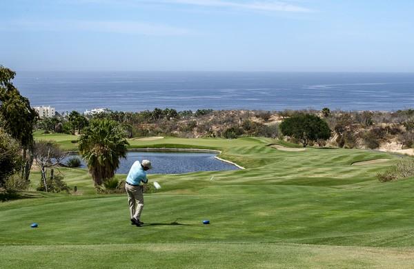 Le parcours « The Dunes » du Resort Diamente Cabo San Lucas , classé 1er parmi tous les terrains du Mexique par Golf Digest en 2016 © www.visitmexico.com