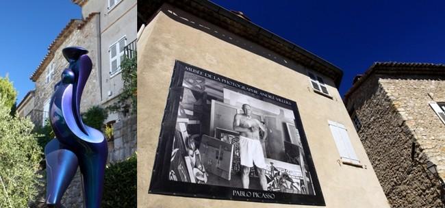 Dans les environs de Mougins la fondation Maeght ou le musée de la céramique qui renferme des œuvres du grand Picasso. © David Raynall