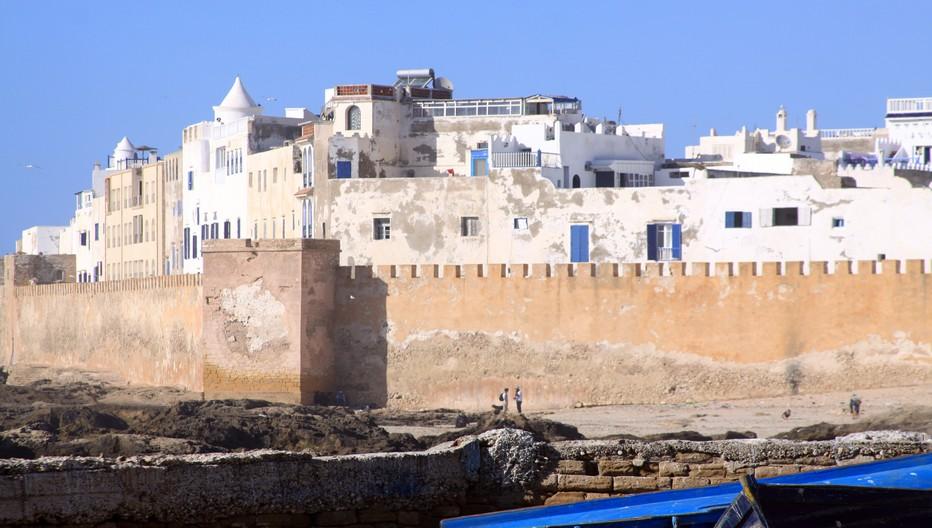 Située sur un site naturel exceptionnel, Essaouira qui a mainte fois changé de nom, est construite sur une île qui s'est vu relier il y a quelques siècles au littoral par les alluvionnements de l'oued Ksob.© David Raynal