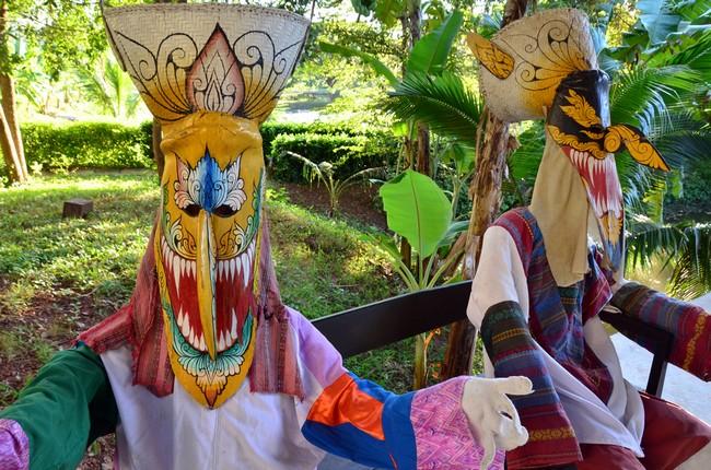 En fin de festival les pièces les plus remarquables prennent la direction du petit musée dédié à cette tradition locale dans l'enceinte du temple de Dan Sai.© David Raynal
