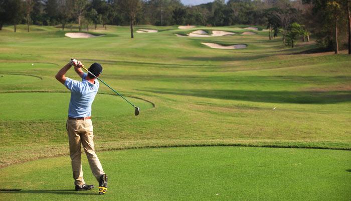Véritable légende du golf dans son pays, Thongchai Jaidee (Pro Chang pour ses compatriotes) a commencé à jouer au golf à 16 ans.© DR