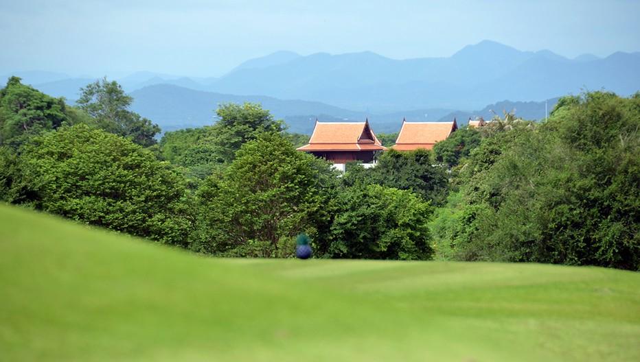 Ouvert en 2008, le parcours extrêmement technique du Banyan Golf Club propose aux golfeurs de jouer en pleine nature dans un environnement préservé et presque sauvage. © David Raynal