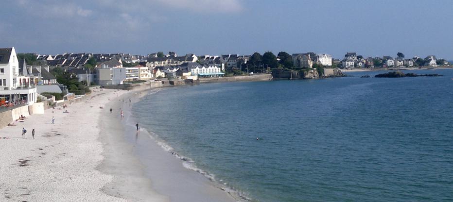 Un voyage onirique à Concarneau façon Thalasso face à la plage des Sables blancs.© Lindigomag/Pixabay