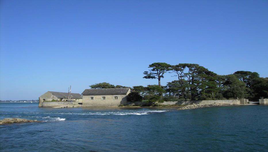 Le Golfe du Morbihan, un environnement protégé entre landes et marais .© C.Gary