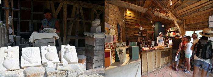 Les artisans s'affairent dans les échoppes du village médiéval. Crédit photo le Puy du Fou D.R.