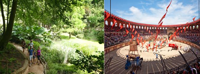Le Puy du Fou est aujourd'hui le 2ème parc à thème de France avec plus de 2 220 000 visiteurs en 2016. Crédit photo Le Puy du Fou D.R.