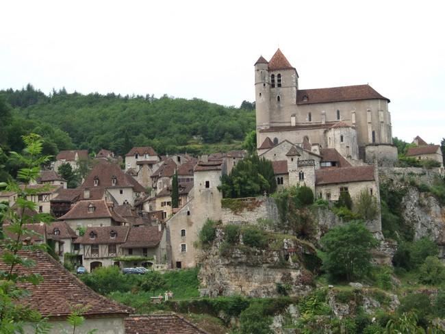Saint-Cirq-Lapopie, élu en 2012 Village préféré des Français.©  DR