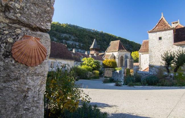 Espagnac-Sainte-Eulalie. Une étape sur le chemin de Saint-Jacques ©  lot tourisme-novello
