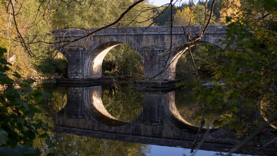 Pont de Sauliac-sur-célé.© Lot Tourisme Novello