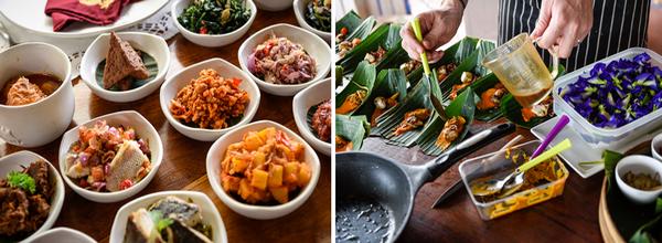 Toutes les saveurs multiples de l'Indonésie sont au Djakarta Bali. Credit photo Ubud Food Festival.