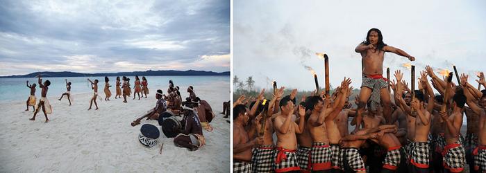 Un point commun relie cependant une grande majorité de ces cultures : l'importance accordée aux ancêtres.© O.T. Wonderfull Indonesia