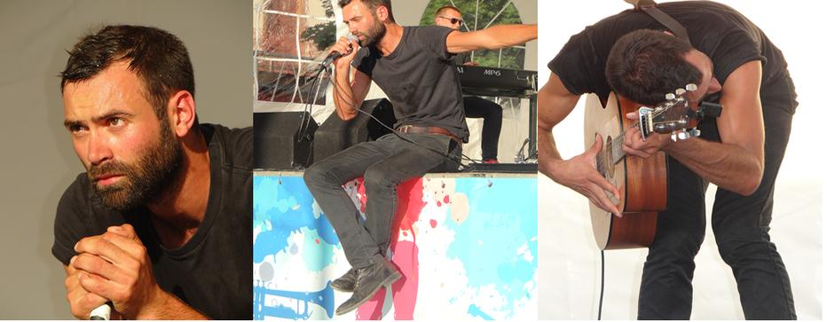 Sur scène, Jack Simard transmet à son public, de l'émotion et de l'intensité. ©Bertrand Munier ;