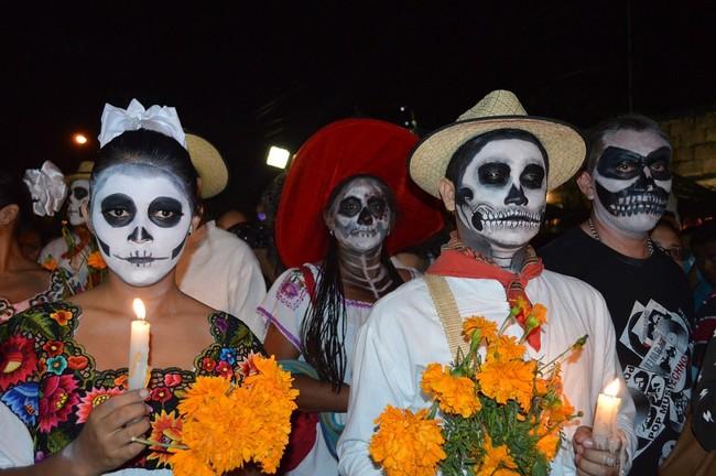 Aguascalientes organise chaque année le « Festival des Crânes », rendant hommage à l'artiste Jose Guadalupe Posada, créateur des célèbres images de La Catrina, très étroitement liées aux célébrations de la Fête des Morts. Copyright VisitMexico.com