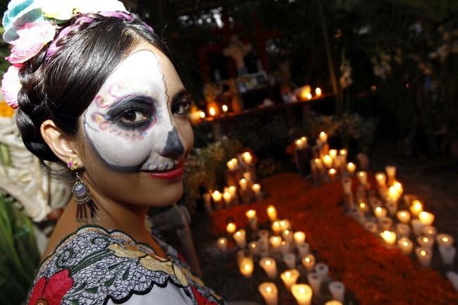 L'une des plus grandes célébrations à Veracruz est le Festival Mictlán, qui dure cinq jours. Copyright VistiMexico.com