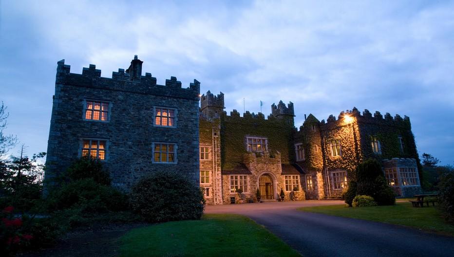 Le luxueux Waterford Castle Hotel & Golf Resort se dresse sur une île privée complètement détachée du continent. Crédit photo D.R.