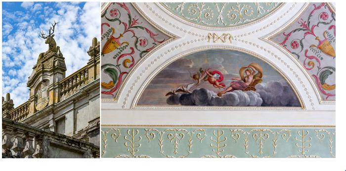 Au beau milieu des tentures aux couleurs vives et du mobilier ancien, les amateurs d'art pourront admirer une collection inattendue de toiles de maîtres, Rubens, Véronèse ou encore Honthorst. Crédit photo D.R.