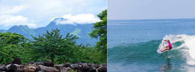 Les spots de surf du Salvador sont parmi les plus prisés du monde. Crédit photo office de tourisme du Salvador/David Raynal