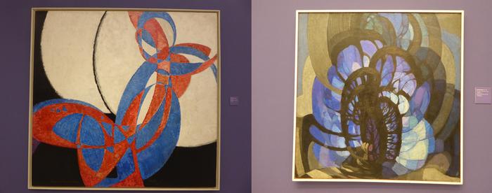 Kupka, le peintre pragois au Musée d'art moderne (Copyright C.Gary)