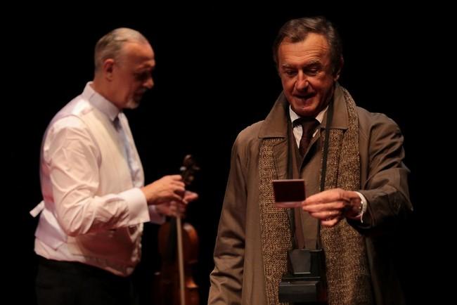 Fausse Note avec Michel Malavoy et Tom Novembre, en ce moment au Théâtre Michel à Paris (Copyright DR)