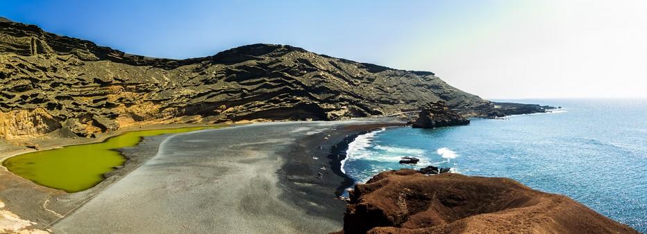 Lanzarote : El Golfo la lagune verte (Copyright  O.T.www.turismolanzarote.com/)