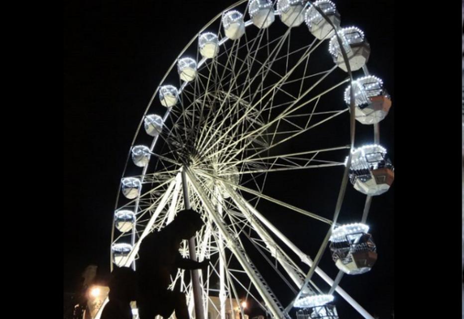 Sans grande roue… il n'y a pas de fêtes populaires ! ©Bertrand Munier
