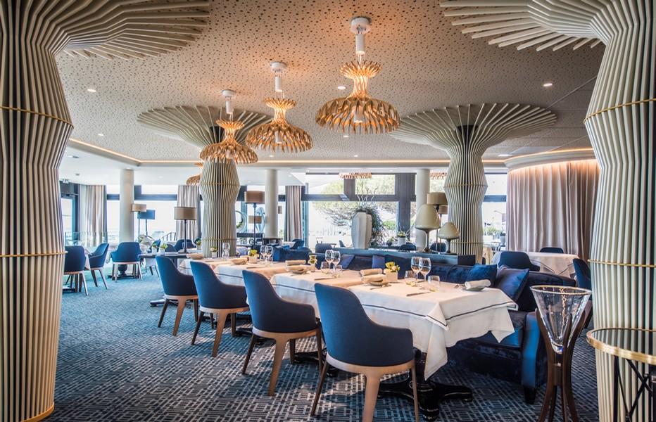 Restaurant Gaya et la déco stylisée d'Eric Pacaud  ©  La Terrasse