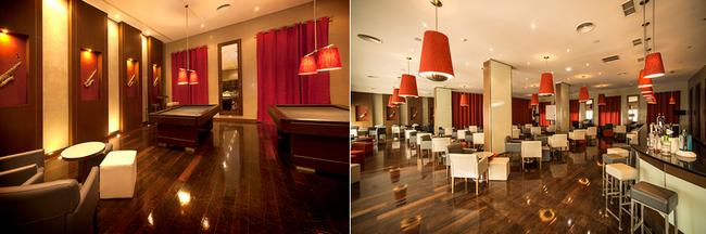Salon et bar de l'Hôtel © VG Santa Cruz