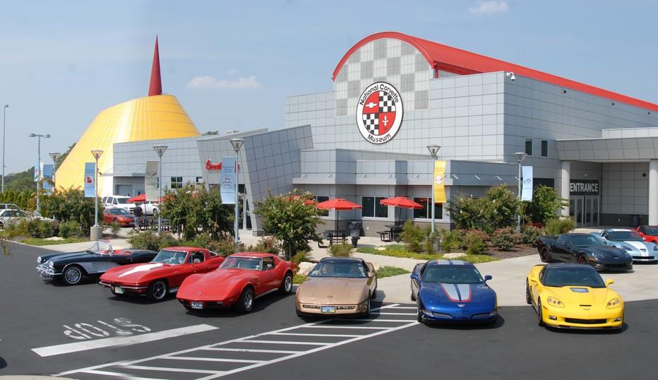 Bowling Green :  c'est en effet là que Corvette a installé son usine de fabrication et un musée où se dévoilent les modèles successifs de la marque. © DR