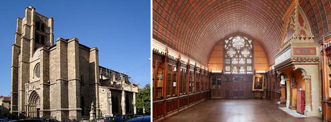 collégiale Notre-Dame d'Espérance et son étonnante salle héraldique de la Diana © OT pays de Loire
