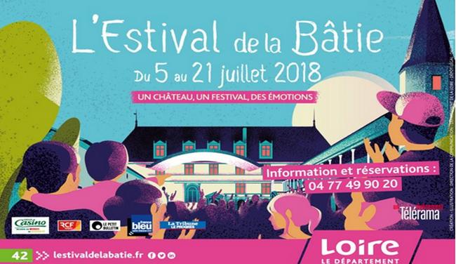 """Huitième édition , au coeur du Forez, de """"l'Estival de la Bâtie """" © OT pays de Loire"""