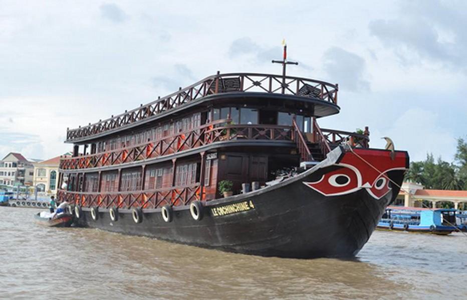 : Le Cochinchine s'apprête à remonter le delta du Mékong © DR.