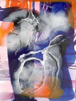 Peinture de Daniel Barichasse à la Galerie Hors-Champs à Paris 3ème @ DR