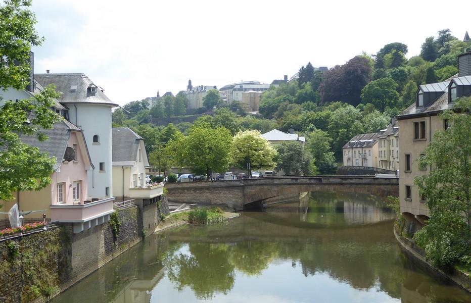Ville basse de Luxembourg city © C.Gary