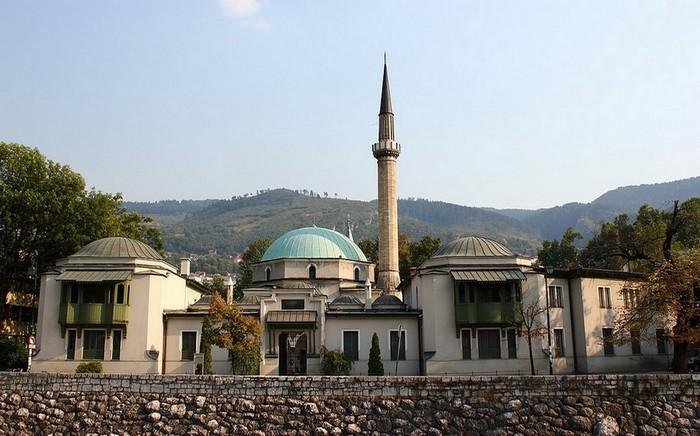 Mosquée Careva Dzamija © Wikipédia Commons