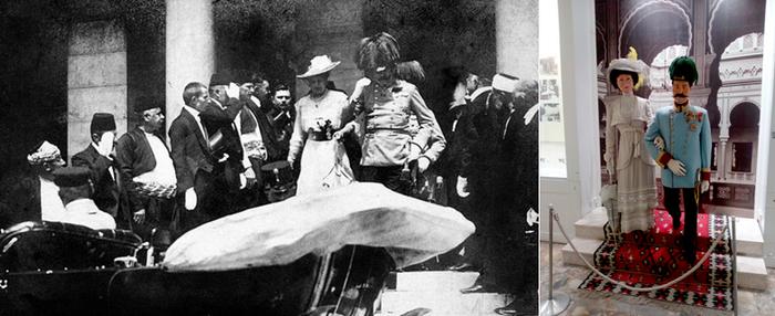 L'Archiduc François-Ferdinand et son épouse Sophie, tous deux décédés dans l'attentat de 1914 qui allait précipiter la première Guerre mondiale © FS et photo d'archives