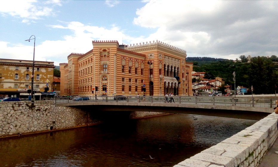 Mairie de Sarajevo © FS