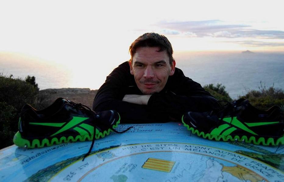 Christophe Vissant, le tour de l'Australie en courant. @ DR