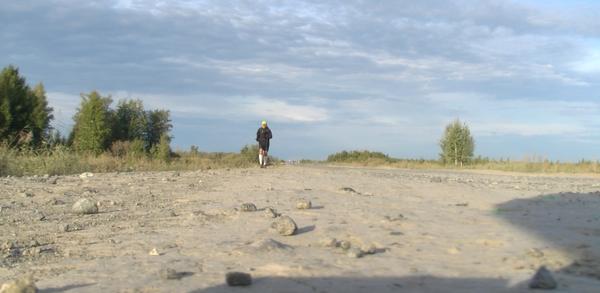 """"""" A ce jour, je suis le seul coureur au monde à avoir traversé la Sibérie d'Ouest en Est. """" @ DR"""