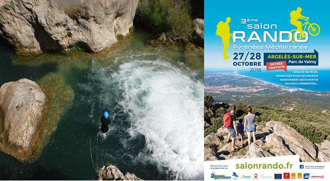 Activités sportives sur mer et sur terre c'est ce que propose le 3ème édition du Salon de la Rando à Argelès sur mer.  @ DR