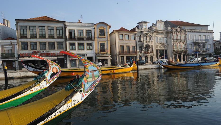 Canal principal de Aveiro. @ OT Portugal