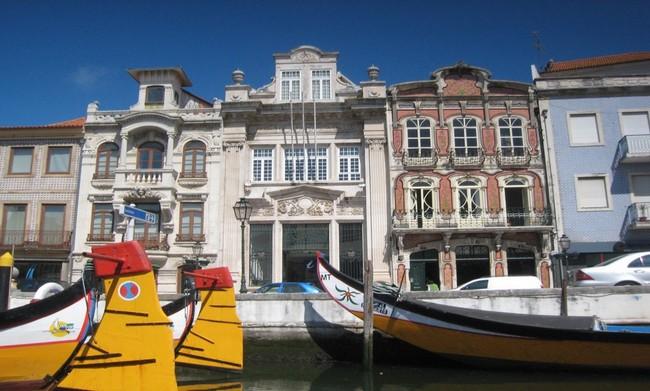 "Aveiro, la""petite Venise""portugaise. @ C.Gary"