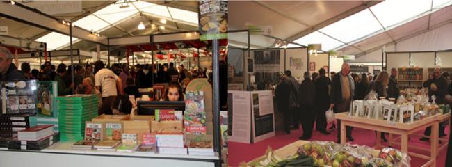 Comme tous les deux ans le Salon International du Livre Gourmand de Périgueux ouvre ses portes aux livres de cuisines, mais aussi aux produits frais. Copyright SILG
