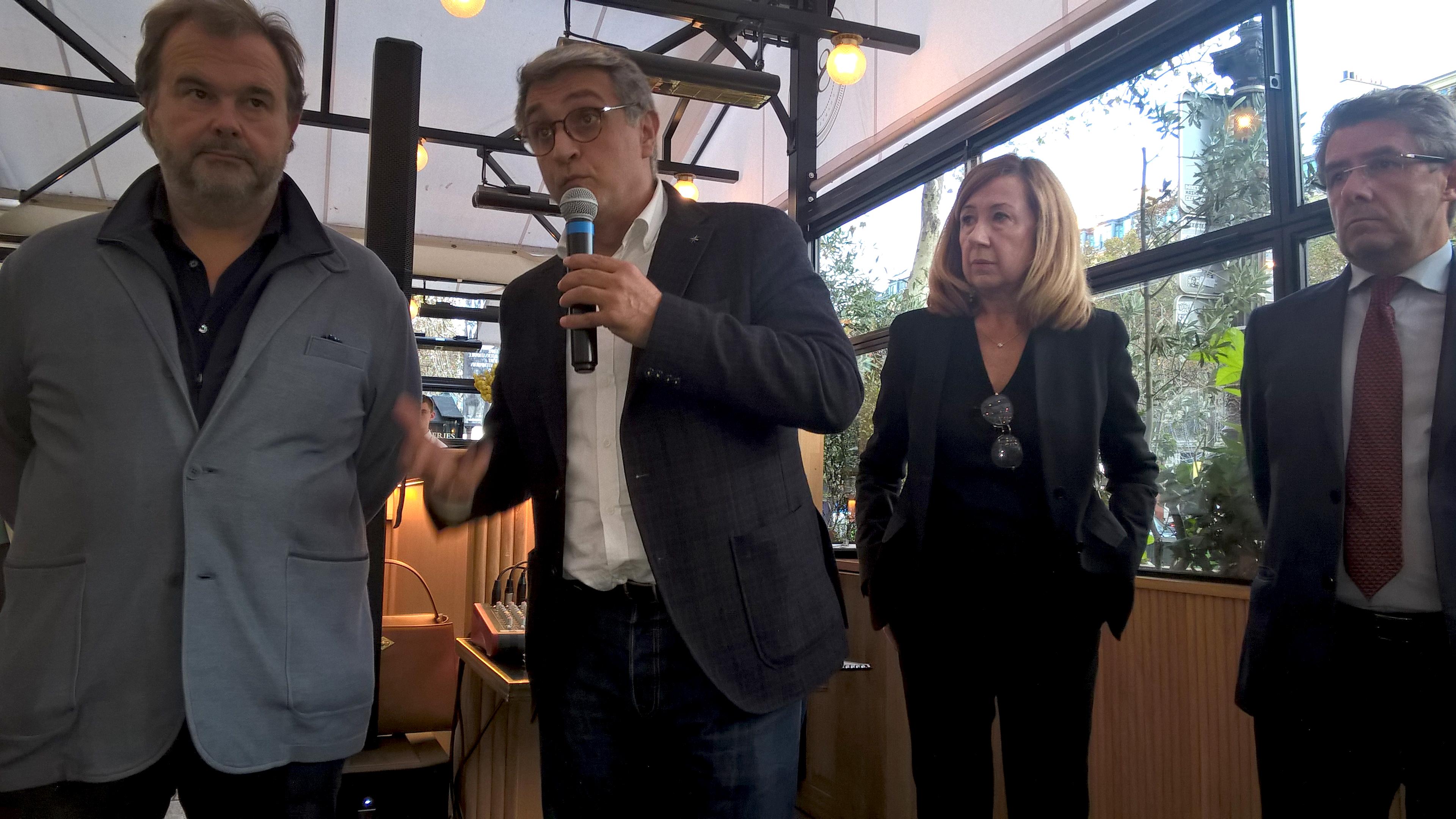 Conférence de presse à Paris pour annoncer la 15ème Edition du SILG en présence de son président, cette année,le grand chef pâtissier Pierre Hermé.  Copyright SILG