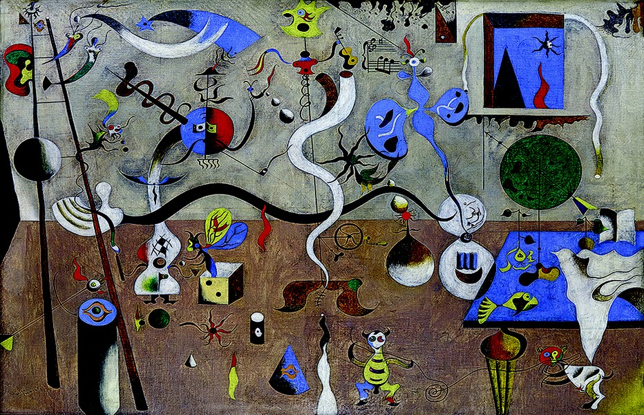 Le Carnaval d'arlequin 1924-25 Miro  - Copyright DR